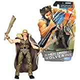 Hasbro Year 2009 X-Men Origins Wolverine Comic Series 4 Inch Tall Action Figure - SABRETOOTH with 2 Clubs and Removable Cape