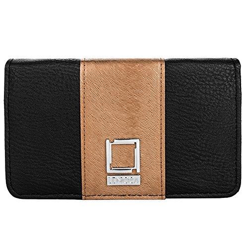 lencca-kyma-eco-leather-wallet-purse-case-crossbody-bag-for-apple-iphone-7-7-plus-47-55-black-copper
