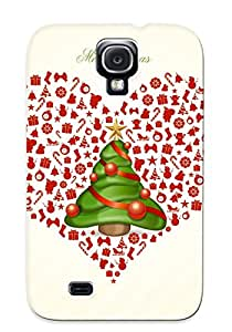 Freshmilk Sanp On Case Cover Protector For Galaxy S4 (joyeux Noel) For Christmas Day's Gift