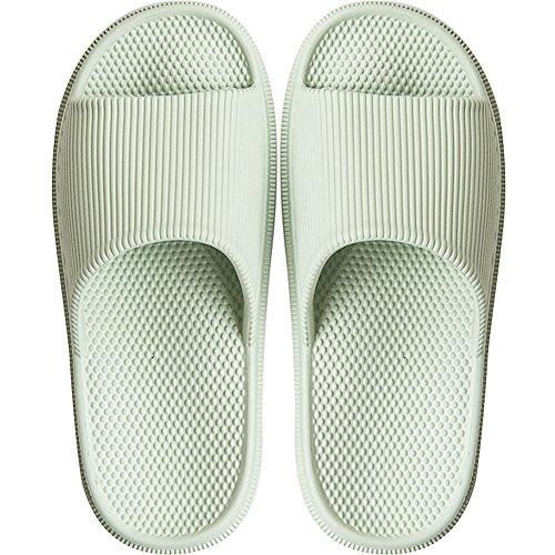 Summer Unisex Slippers Men Casual Massage Women Green Fly Couple Spring Bathroom Hawk Light Sandal toe slip Household Anti IwqxOE0