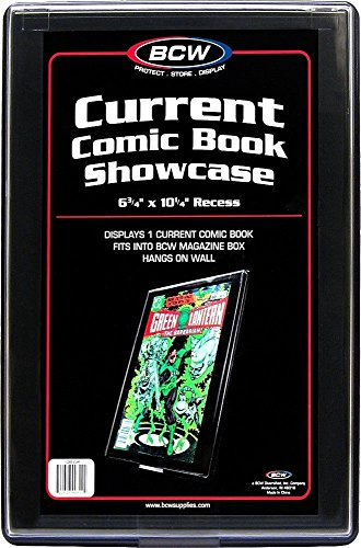 CURRENT AGE Comic Book Showcase Display Case NEW 6