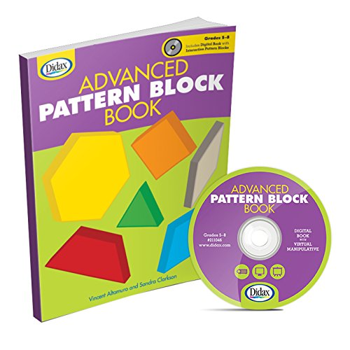 Advanced Pattern Block Book, Grades 5-8