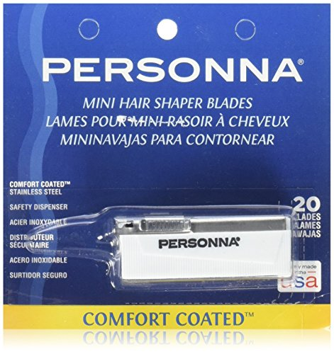(Personna Mini hair Shaper Blades 20-pk.)