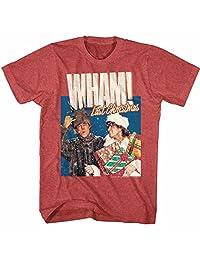 American Classics Wham English Music Duo Chrimuh Red Heather Adult T-Shirt Tee