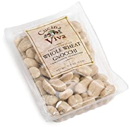 Cucina Viva Gnocchi, Whole Wheat, 17.5-Ounce Packages (Pack of 12)