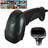 Handheld USB Port Laser Barcode Scanner Barcode Reader For POS Computer Shop - Manual Tools Barcode Scanner & Thermal Printer - 1 x Barcode Scanner, 1 x Connection Cable, 1 x Stand