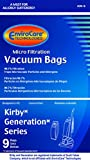 kirby 9 - Kirby Generation 1,2,3,4,5,6 and Ultimate G Allergen Filtration 9 Bags