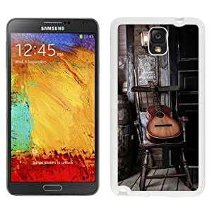 NEW Custom Diyed Diy For Touch 5 Case Cover Phone With Old Guitar On Chair_White Phone