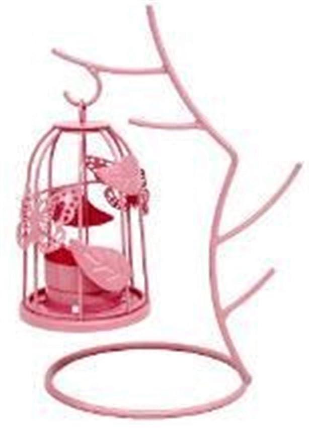Candelabro 1PC Rama de árbol Europeo Jaula de pájaros Linterna de ...