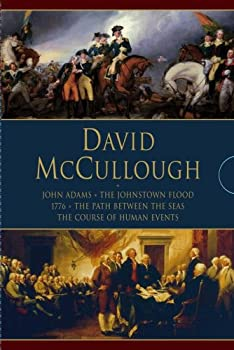 David McCullough: John Adams/The Johnstown Flood/1776/The Path Between the Seas/The Course of Human Events 1416544674 Book Cover