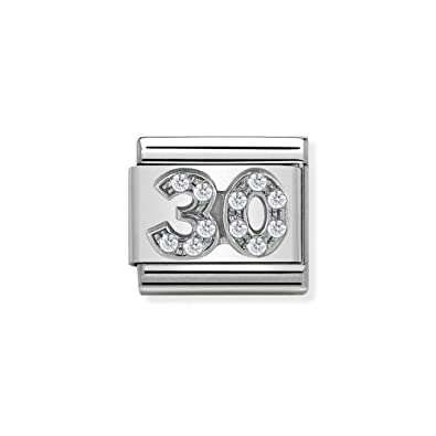 Nomination Women Stainless Steel Bead Charm - 330304/21 coRTqMl