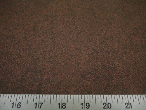 Discount Fabric Quilting Cotton Keepsake Calico Batik Crackle Brown T11