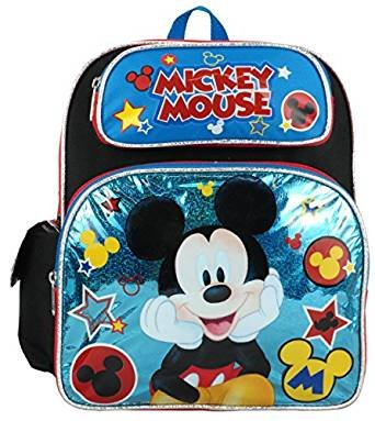 Image Unavailable. Image not available for. Color  Disney Mickey Mouse  12 quot  Toddler Backpack cdf07bb6b42a4