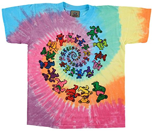 Youth: Grateful Dead- Spiral Bears Kids T-Shirt Size YS
