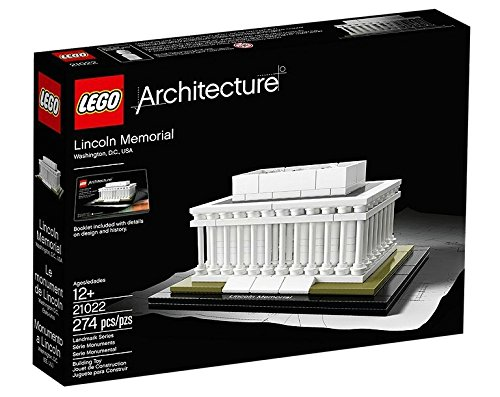 647 opinioni per Lego Architecture 21022- Lincoln Memorial