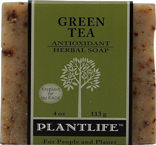 Té verde 100% puro y Natural aromaterapia Herbal Soap-4 oz (113g)