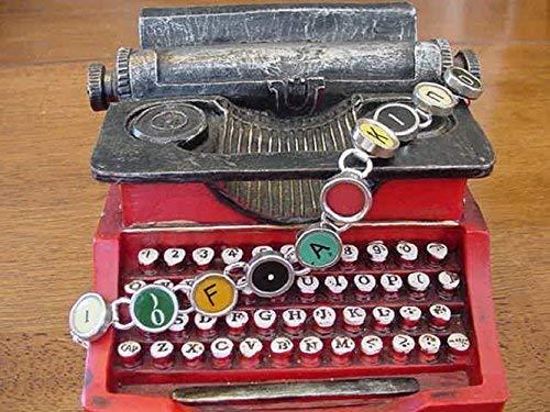 Amazon.com: For Janet Hammond Only Typewriter Key JBracelet ...