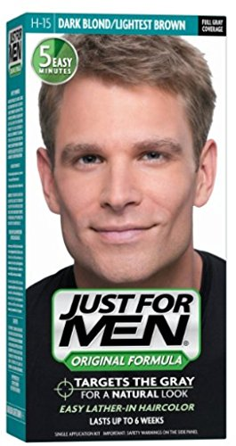 JUST FOR MEN Hair Color H-15 Dark Blond 1 Each (Pack of 4) by Just for Men