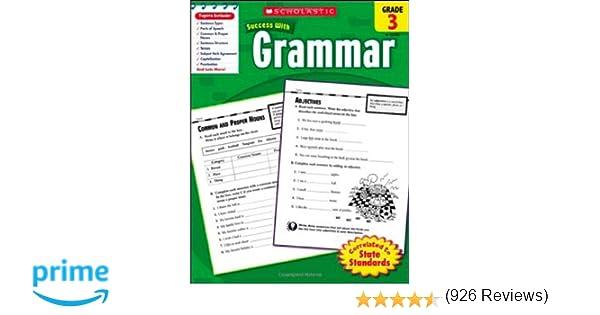 Scholastic Success With: Grammar, Grade 3 (Scholastic Success with ...