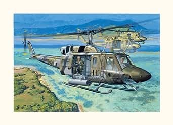 "Dragon 1/35 UH-1N ""Gunship"" Helicopter"