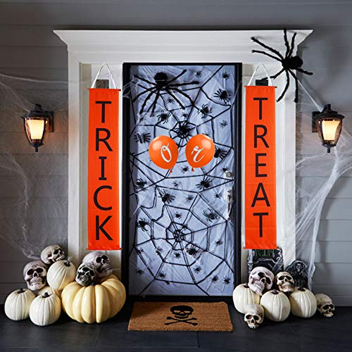Tiontiontime Trick Treat Banner Balloons Halloween Decorations Outdoors/Indoors by Tiontiontime