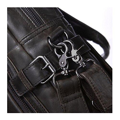 Carry à Sac Épaule Casual HAOXIAOZI Sac Vachette Minimaliste Femme Gris à Main Bandoulière Dos Main fO55wqA