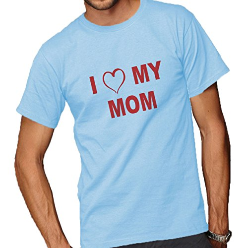 Short Sleeve T-Shirt Light Blue Large ()