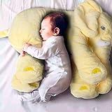 "New Baby Kids Long Nose Elephant Doll Soft Plush Stuffed Toy Waist Throw Pillow Cute ""Yellow 5060cm ""No.06"