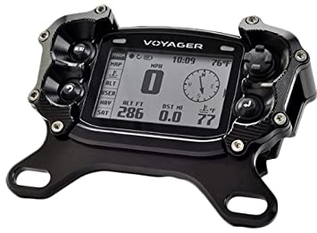 Trail Tech 025-TM2 Black Voyager Top Mount Protector