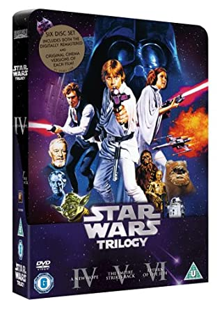 Amazon. Com: star wars trilogy with exclusive best buy tin.
