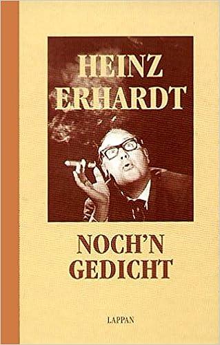 Erhardt urlaub heinz gedicht Erhardt, Heinz