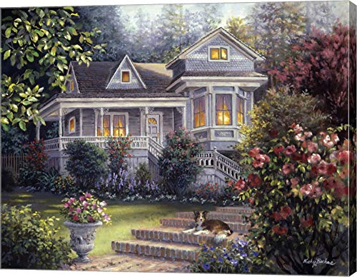 (A Canine Sanctuary by Nicky Boehme Canvas Art Wall Picture, Gallery Wrap, 25 x 20 inches)