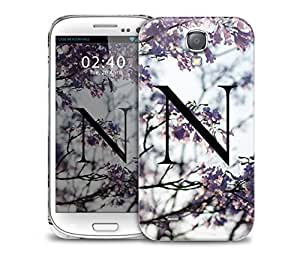 letter n Samsung Galaxy S4 GS4 protective phone case