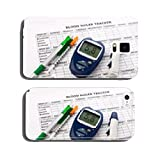 diabetes concept with glucometer cell phone cover case iPhone6
