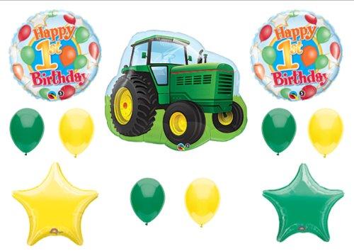 John Deere-LIKE Birthday 1st First Party Balloons Decorations - Deere Thank You John