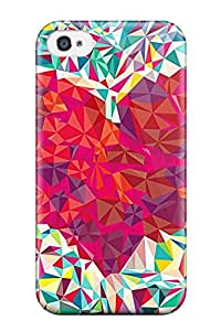 YeBqzog12387gTrzG Snap On Case Cover Skin For Iphone 4/4s(cool Crsytal Heart Love)