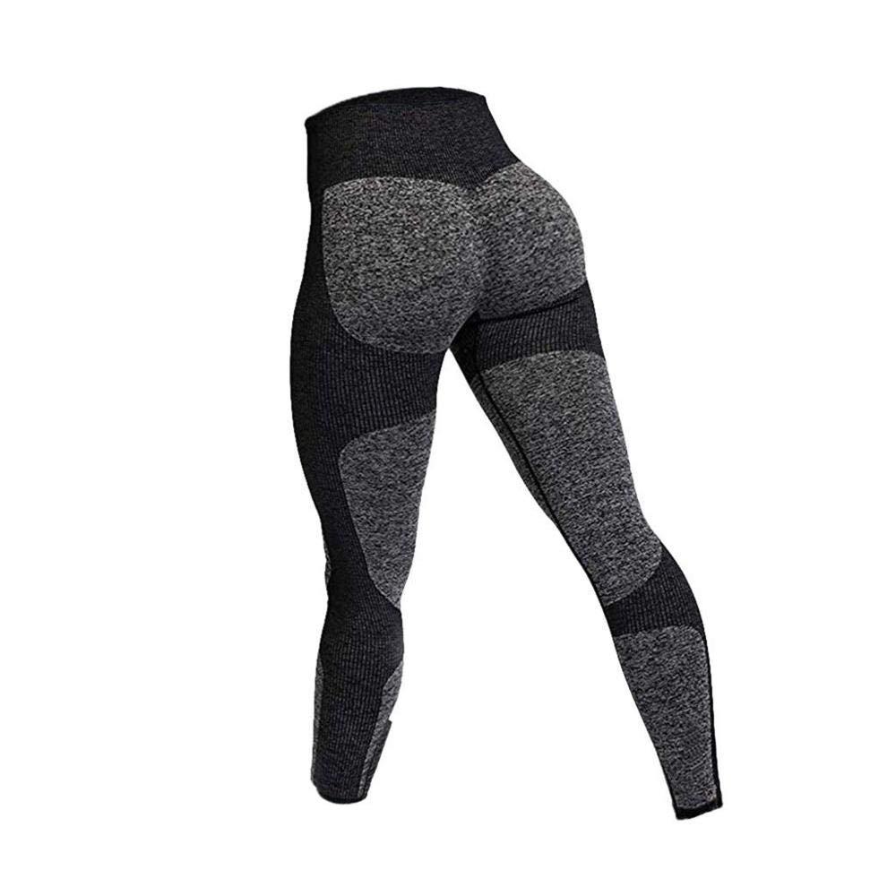 YUYOGAP Frauen Yoga Hosen Sexy Hohe Taille Nahtlose Jogginghose Engen Neun Punkte Yogahosen Turnhalle Jogginghose Yogahosen
