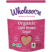 Wholesome Organic Light Brown Sugar, 24 ounce