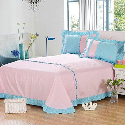 Flower Language Blue Bedding Girls Bedding Princess Bedding Teen Bedding, Full Size