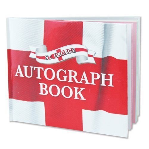 Pack of 12 St George's England Autograph - George Mall St