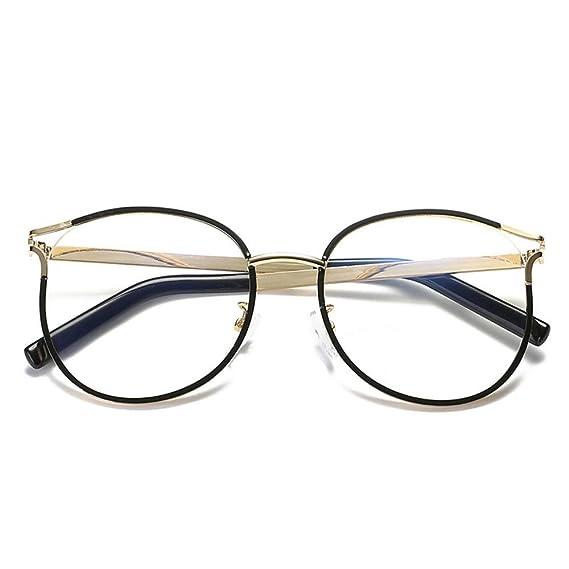 De Gafas Mode Plat Lunettes Monturas Miroir Multi Frames Hipster 8nO0PwkX