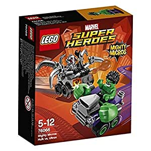 LEGO Super Heroes - Set Mighty Micros: Hulk vs. Ultrón (76066)