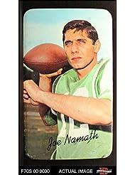 1970 Topps Super # 33 Joe Namath New York Jets (Football Card) Dean's Cards 5 - EX Jets