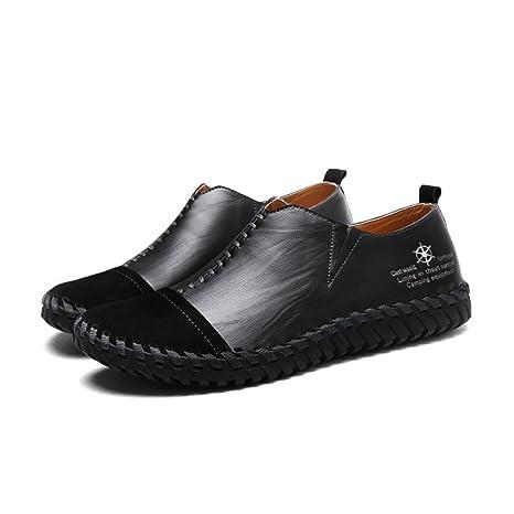 Zapatos de Hombre Mocasines Planos de Cuero/PU Primavera/Otoño/Invierno Mocasín y