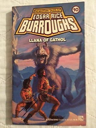 book cover of Llana of Gathol