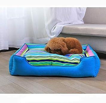 GYK Boutique Cama para Mascotas, Perrera de Lona extraíble, Nido de Rayas nórdicas, 50X40 CM: Amazon.es: Productos para mascotas