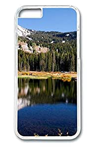 iPhone 6 Case - Mountain Lake 10 Illustrators Series Protective Hard Clear Case Cover Skin For iPhone 6 (4.7 inch)
