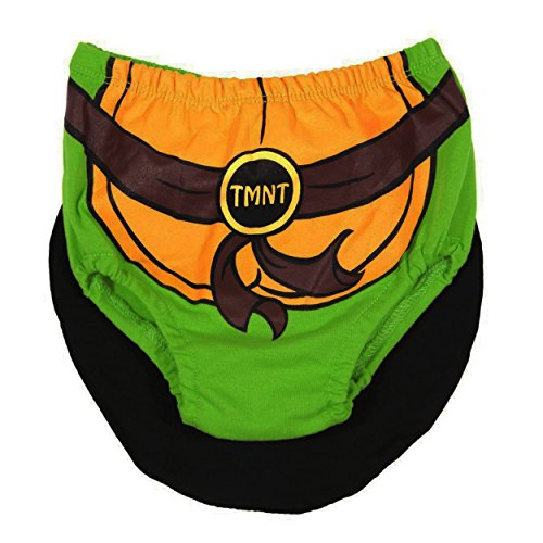 Baby-Boys Infant TMNT Diaper Cover with Cape, Green, One (Ninja Turtle Baby Stuff)