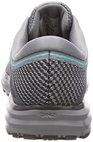 Brooks Running Grey Women's Ebony Green Revel Shoe Teal Erx8Z4nEq1