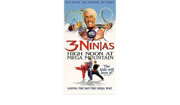 3 Ninjas: High Noon at Mega Mountain [Alemania] [VHS ...